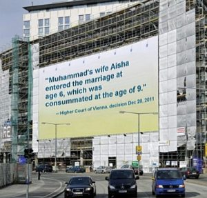 Vienna billboard, English